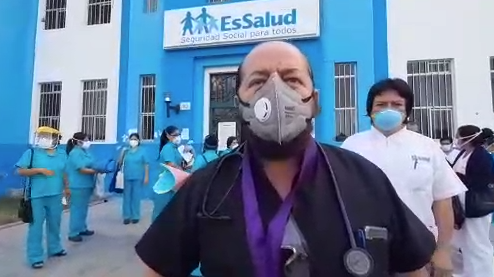 Decano Colegio Médico de Lambayeque pidió la salida de las autoridades del sector salud