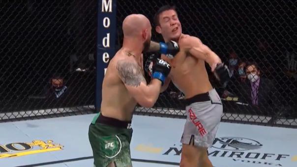 Brian Kelleger ganó por KO a Hunter Azure en evento de MMA en Florida
