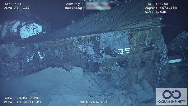 USS Nevada sobrevivió a guerras mundiales.