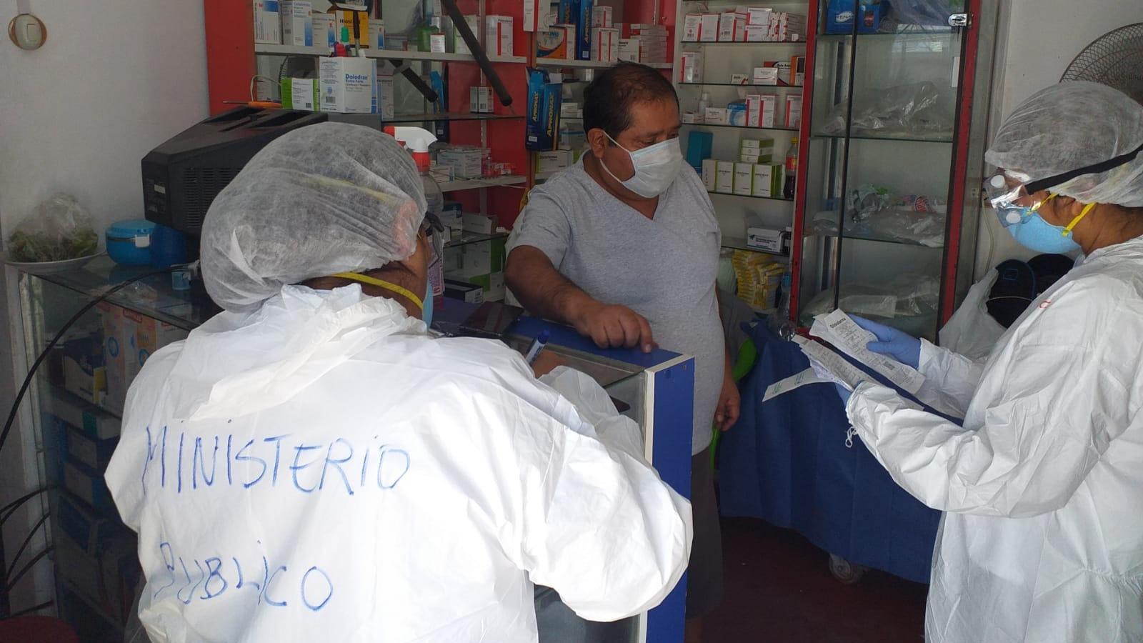 Botica atendía a pacientes con la COVID-19 a pocos metros del hospital regional