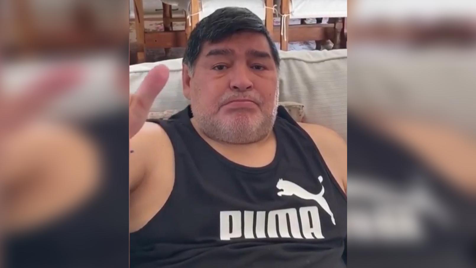 Diego Maradona pidió ayuda para los más pobres que sufren por la pandemia