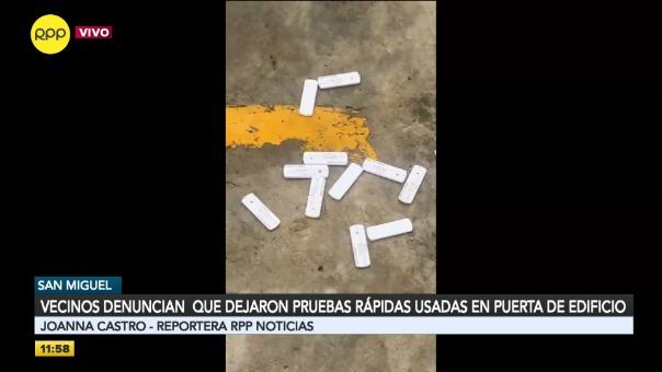 Vecinos de San Miguel realizaron denuncia.