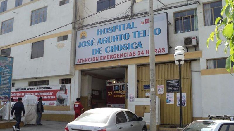 Los médicos del hospital solo llegaron a certificar el deceso de la mujer.