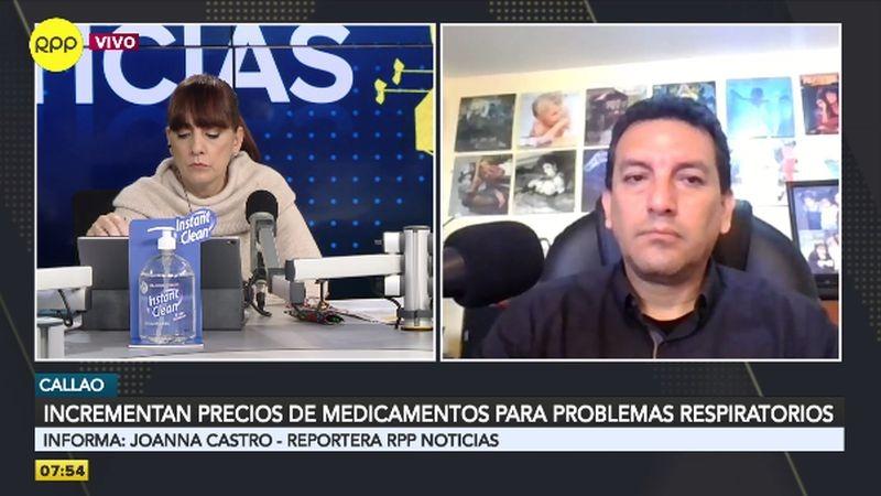 Alejandro Gutiérrez expuso su caso a través del Rotafono.