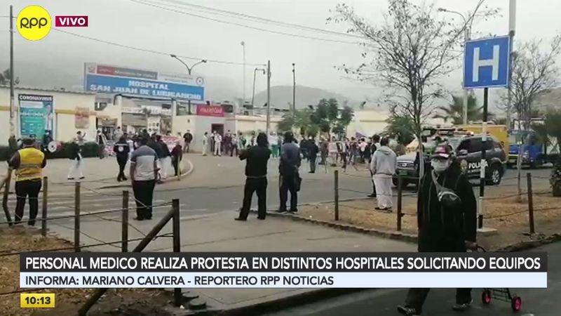 El personal médico también pide la mejora de los protocolos para el tratamiento de los cadáveres durante la pandemia.