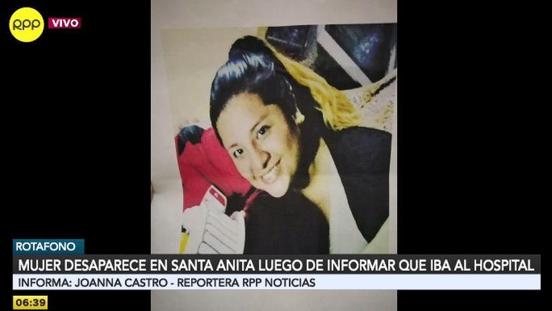 Claudia Fiorella Bazán Cárdenas está desaparecida desde hace una semana.