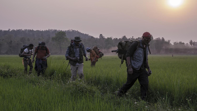 """""""5 sangres"""". Estreno 12/6. Cuatro veteranos afroamericanos regresan a Vietnam décadas después de la guerra en busca de los restos de su líder... y un tesoro oculto. Drama bélico de Spike Lee."""