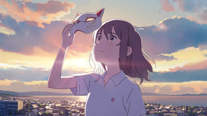 """""""Amor de gata"""". Estreno 18/6. En el segundo largometraje de Studio Colorido, una chica de curioso apodo hará lo que sea por acercarse al objeto de su amor, incluso convertirse en su felina mascota."""