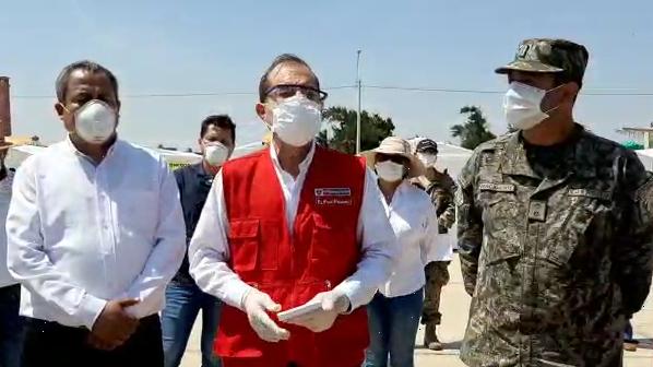 Ministro de Defensa, Walter Martos, recomendó no levantar aislamiento social en Lambayeque