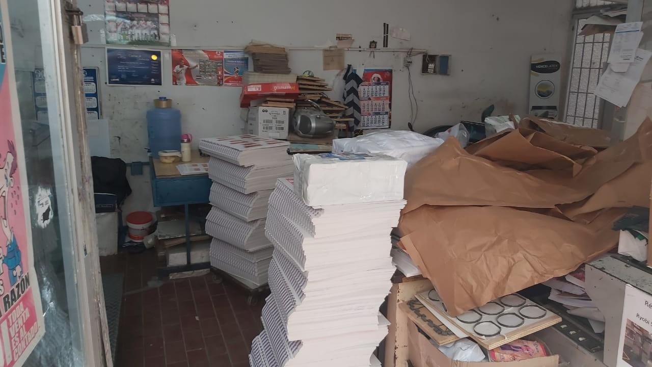 Etiquetas de fármacos eran falsificadas en pleno centro de Chiclayo