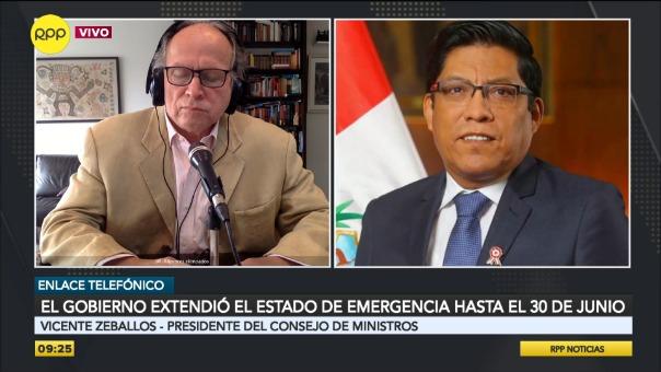El Gobierno extendió el Estado de Emergencia hasta el 30 de junio.