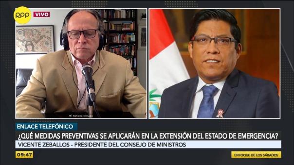 Vicente Zeballos anuncia que se presentará en el Congreso el 28 de mayo.