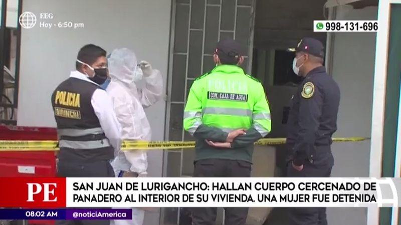 Este caso ha impactado al vecindario de San Juan de Lurigancho.