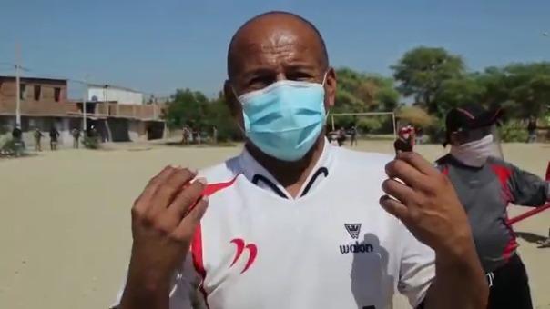 El poblador José Sandoval asegura que el lugar no es apropiado para tratar a pacientes con COVID-19.