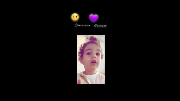 La pequeña Alana Martina es la protagonista del video