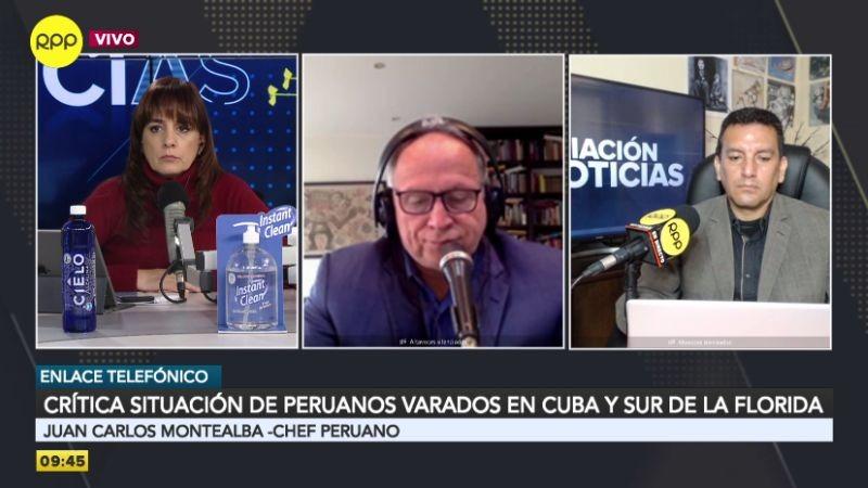 Juan Carlos Montealba describió la situación que viven cientos de peruanos varados desde que comenzó el estado de emergencia, hace casi 80 días.