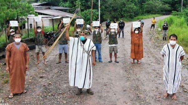 El dirigente alerta que la pandemia está acabando con la vida y las tradiciones de los pueblos de la amazonía