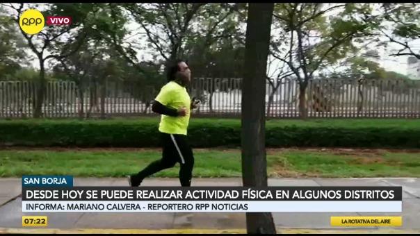 Minsa autoriza la actividad física y recreación en espacios públicos durante cuarentena