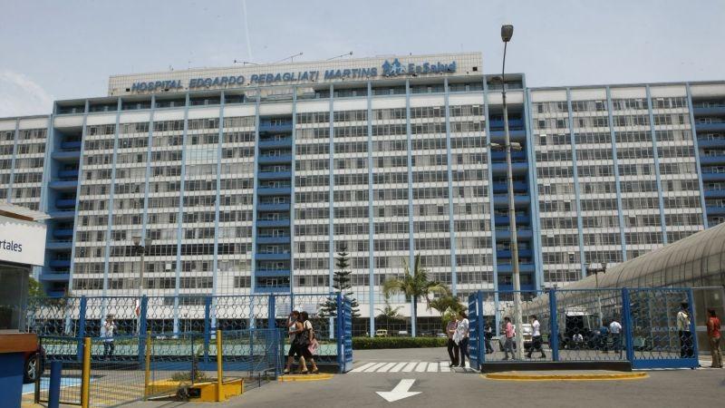 El bebé está internado en el Hospital Rebagliati desde que nació.