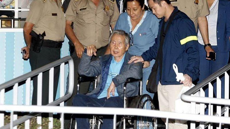 El Poder Judicial confirmó la resolución que rechazó el pedido de Alberto Fujimori para salir de prisión por temor a la COVID-19.