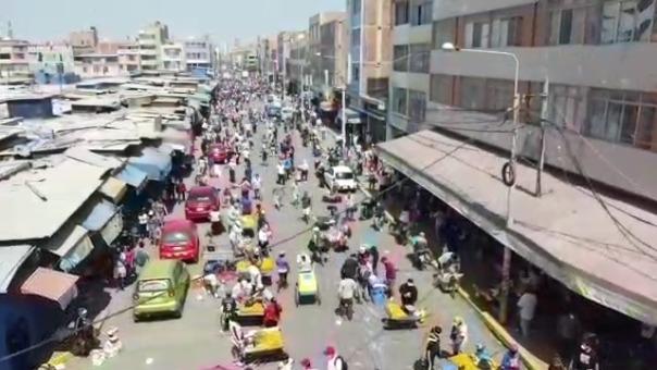 En los alrededores del mercado Modelo de Chiclayo hay un aproximado de 2 mil informales.