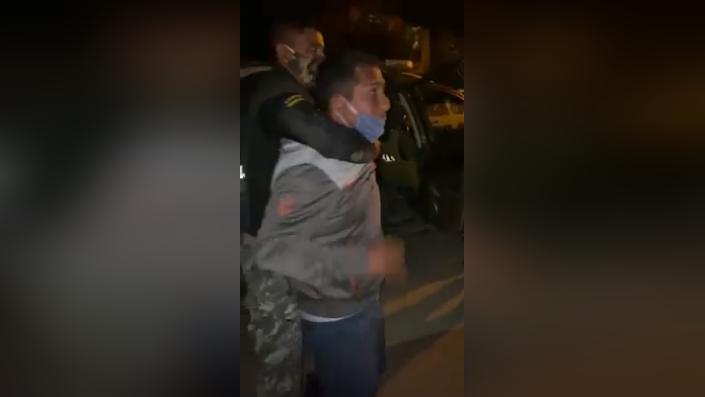 Detienen a policía que llegó de Lima a celebrar su cumpleaños en Ferreñafe