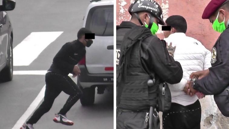 El delincuente fue capturado cuanto intentaba robar a pasajeros de un vehículo.