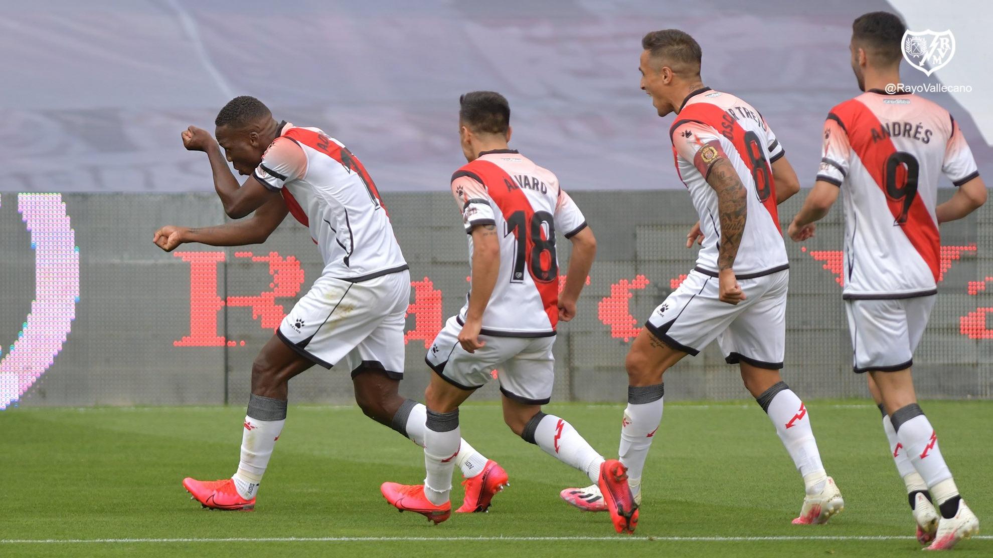 Este fue el gol que Luis Advíncula marcó con el Rayo Vallecano.