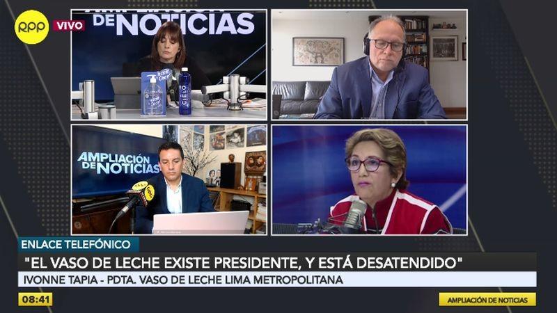 Ivonne Tapia estuvo esta mañana en Ampliación de Noticias.