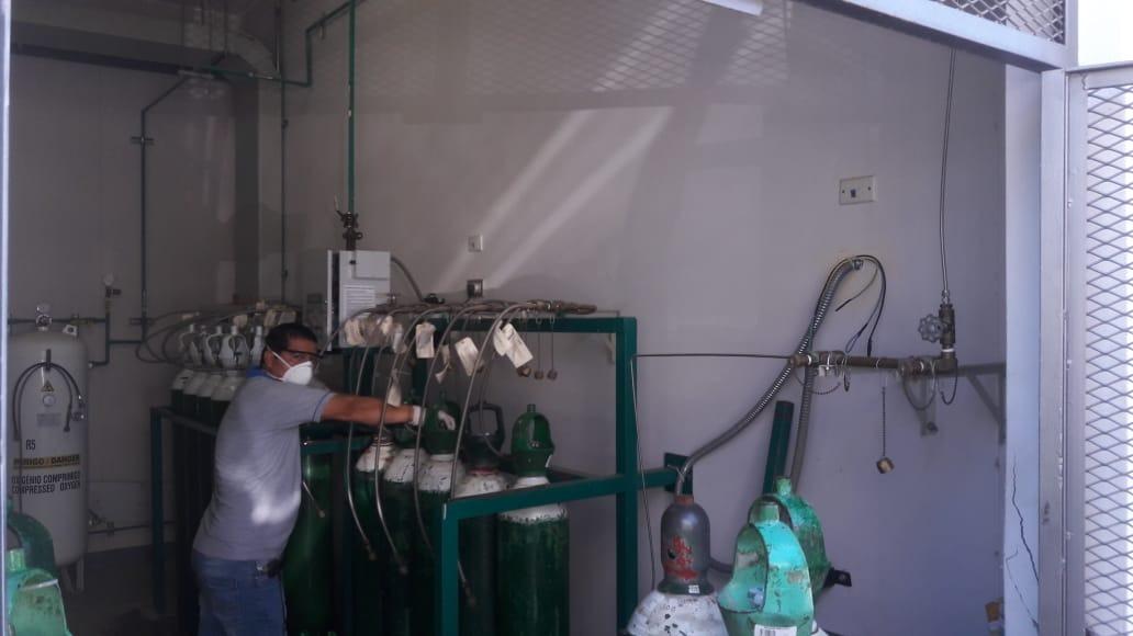 Balones de oxígeno serán repartidos a Hospital de Tarapoto