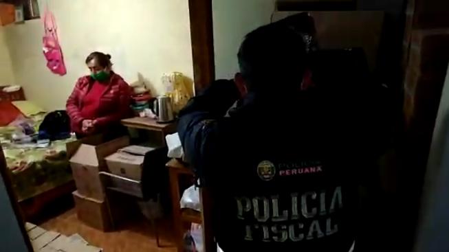 Intervención de la Policía Nacional en vivienda
