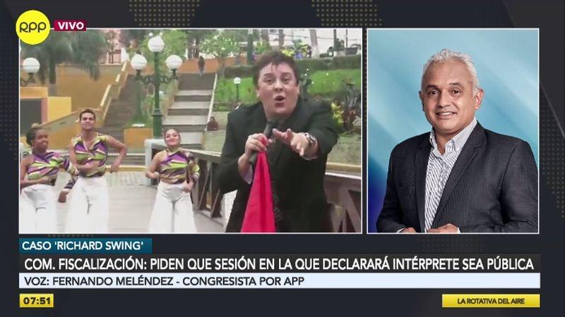 Fernando Meléndez habló para RPP Noticias.