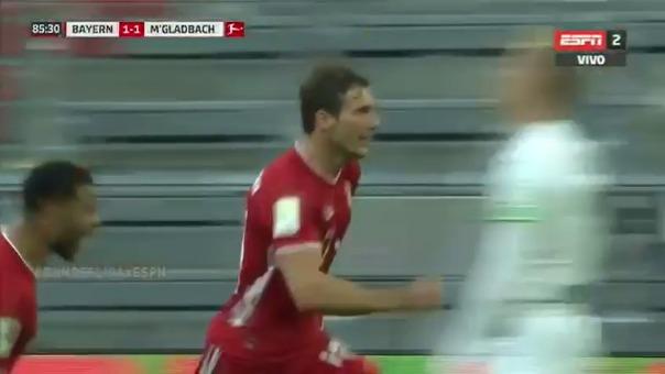 Bayern Munich vs. Borussia Monchengladbach