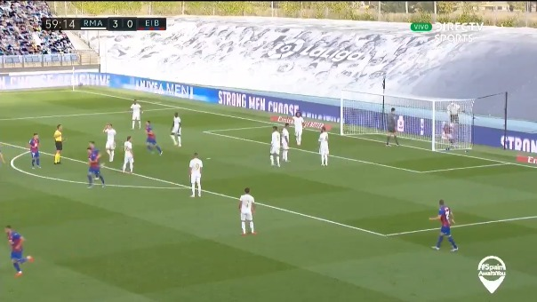 Real Madrid 3-1 ante Eibar.