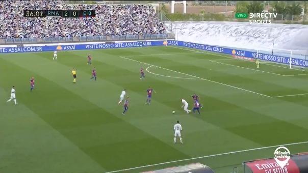 El gol de Marcelo,.