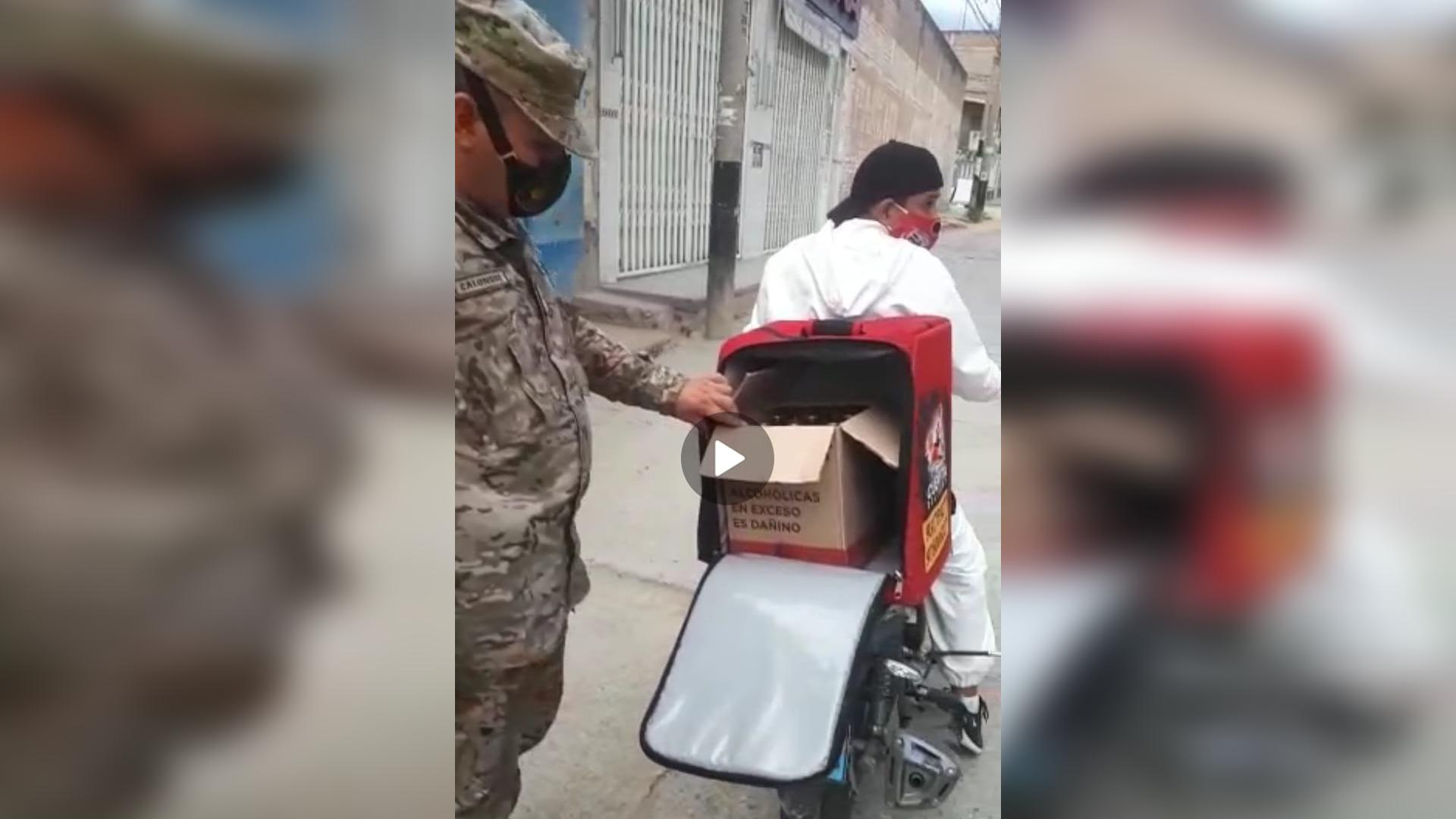 Repartía cerveza delivery en Jaén