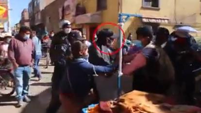 Hombre fue defendido por los comerciantes