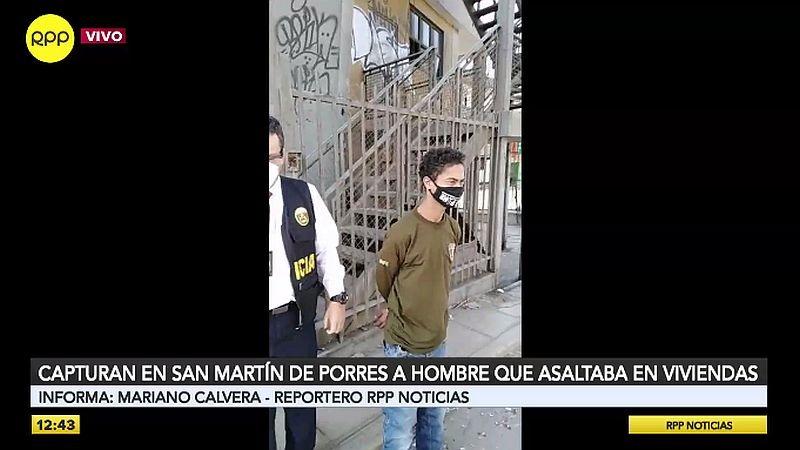 El detenido se refugiaba en un edificio abandonado de Fiori.