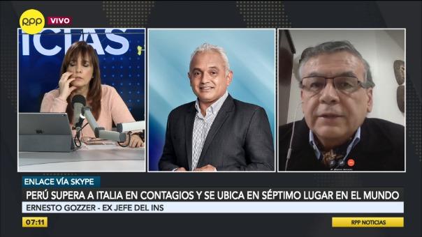 Eduardo Gozzer, exjefe del INS.