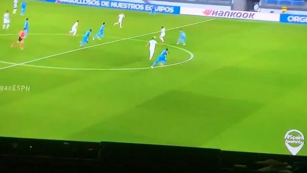 Así fue la ocasión que falló Eden Hazard