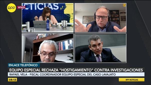Rafael Vela dio detalles de las investigaciones del Equipo Especial Lava Jato.