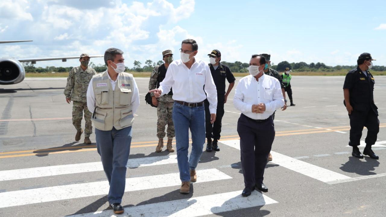 Presidente Vizcarra inauguró la Villa EsSalud Pucallpa.