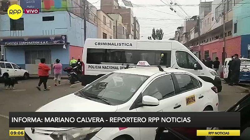 La Policía acordó la zona para que se realicen las investigaciones.