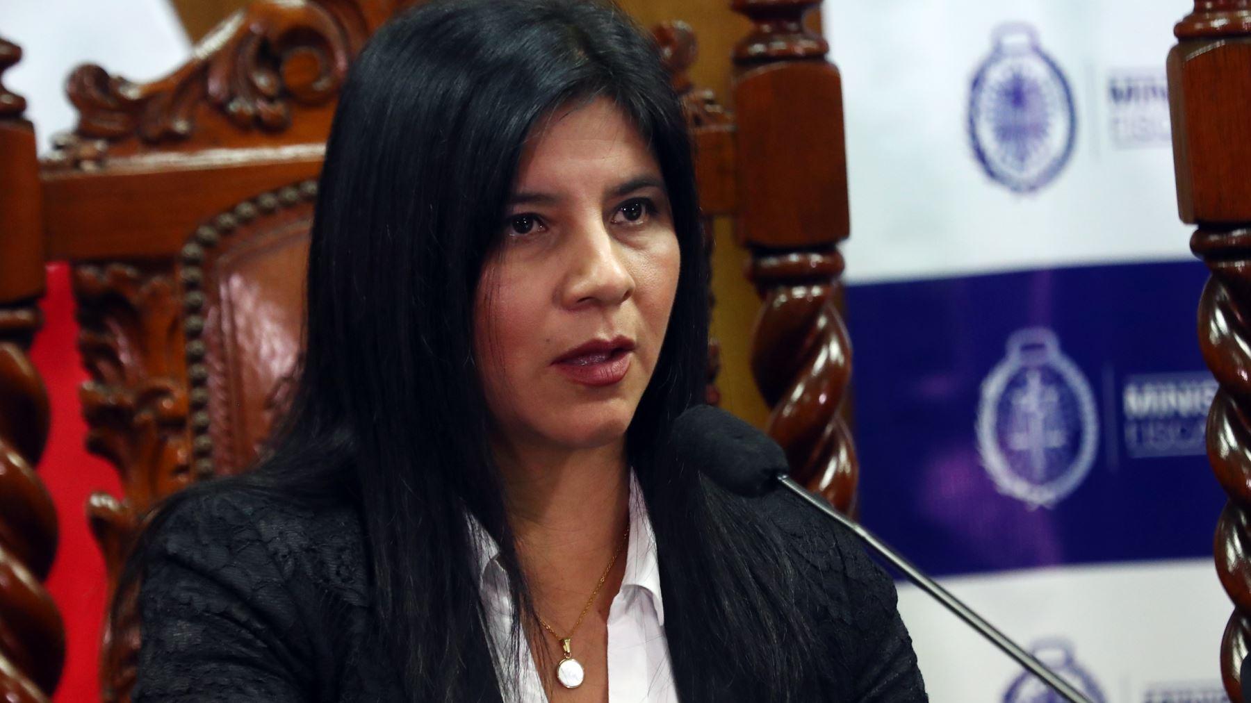 Silvana Carrión, procuradora ad hoc del caso Lava Jato.