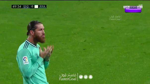 Sergio Ramos y su gol de penal.
