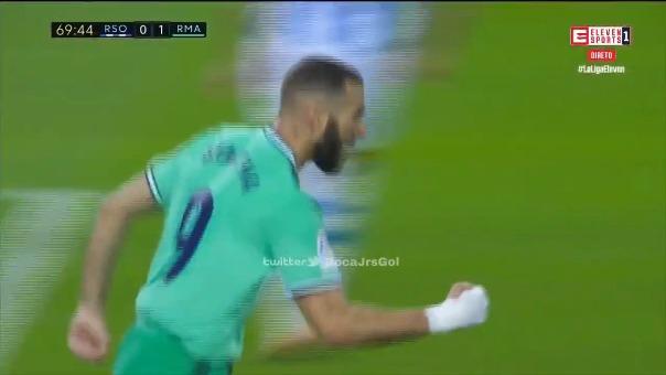 Gol de Karim Benzema.