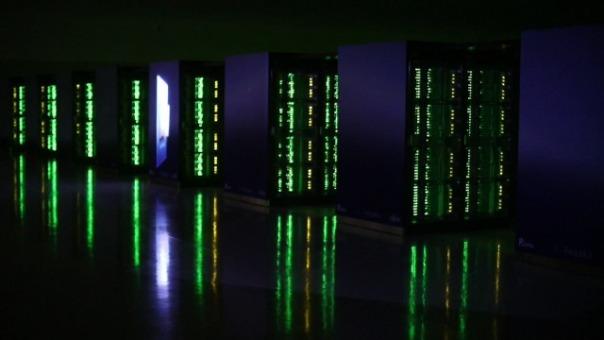 La supercomputadora está siendo activada antes de lo planeado.