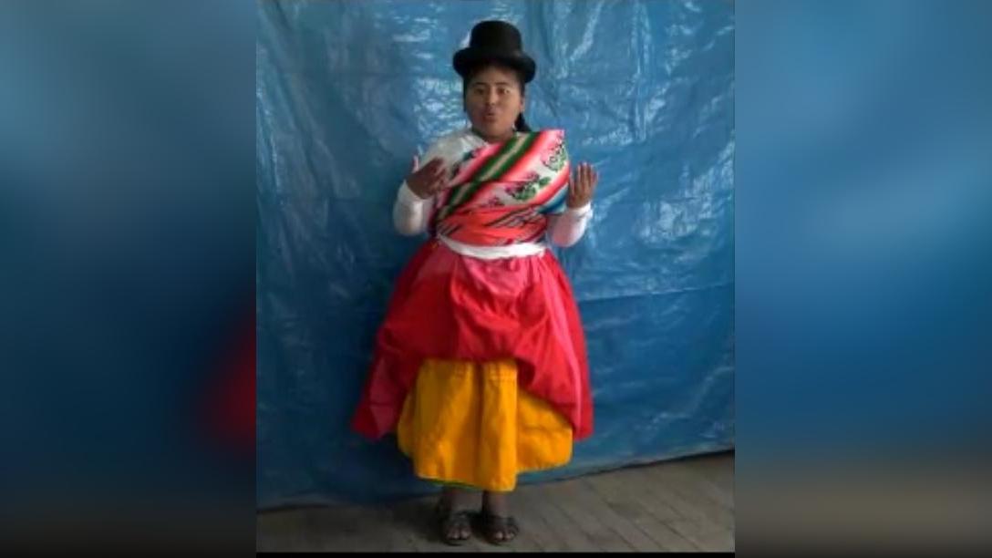 Camilla Milagros Calderón Chara, estudiante del 5to año de primaria de la Institución educativa n°70024 del barrio Laykakota.