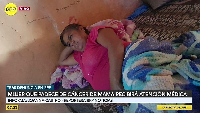 Marina Galindo Quispe recibirá la ayuda que necesita.