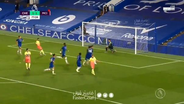 Gol de Chelsea.
